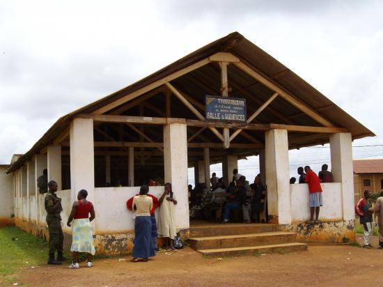 Nanga Eboko Ancien Tribunal Salle des audiences