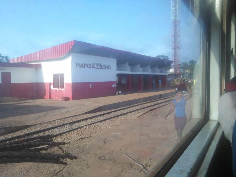 Nanga Eboko Gare des chemins de fer