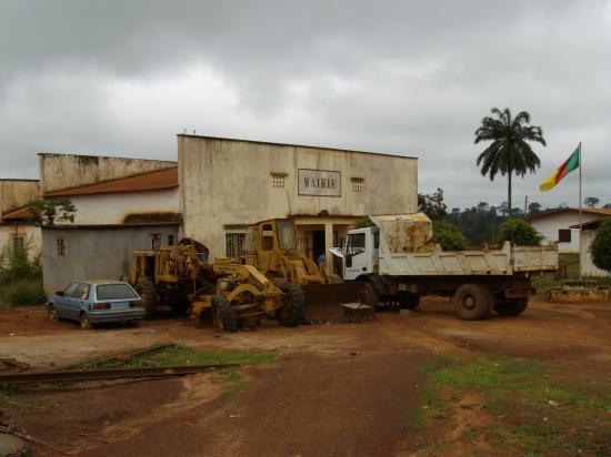 Nanga Eboko L'ancienne mairie
