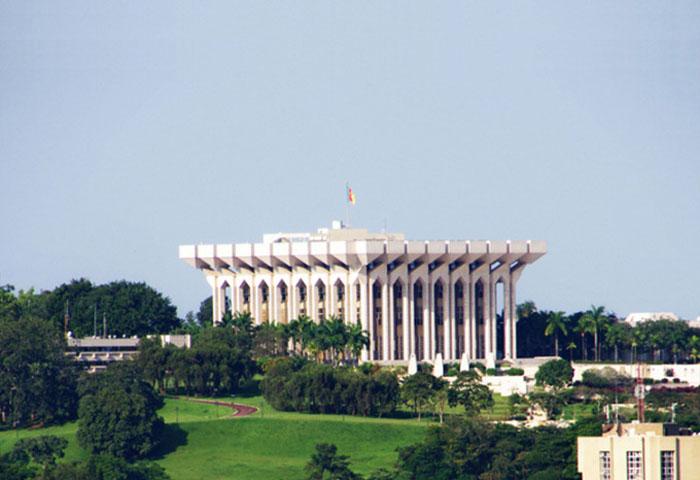 Yaoundé - Le palais présidentiel