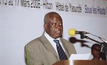 L'ancien ministre Joseph MBOUI
