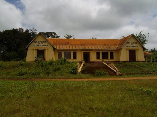 Nanga Eboko La Préfecture de la Haute Sanaga