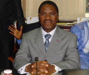 André MAMA FOUDA, ministre de la Santé