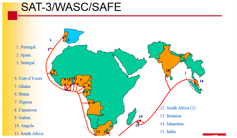 Avec la fibre optique portée par la câble sous-marin SAT-3, le Cameroun entre dans une nouvelle ère des télécommunications