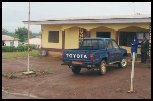 Nkoteng. Ancienne mairie