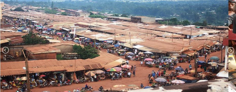 Mbouda, le marché