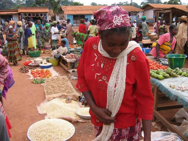 Gari Gombo, le marché