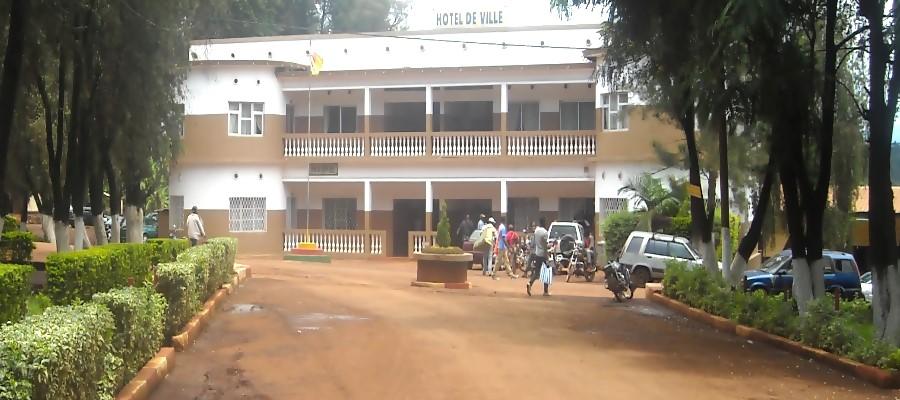 Mbouda l'Hotel de ville