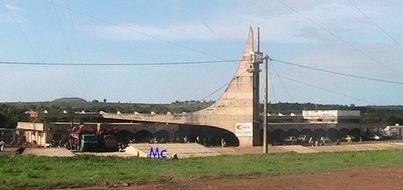 La gare des chemins de fer de Ngaoundéré