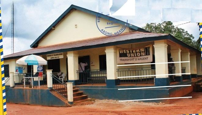 Abong Mbang, Bureau des postes