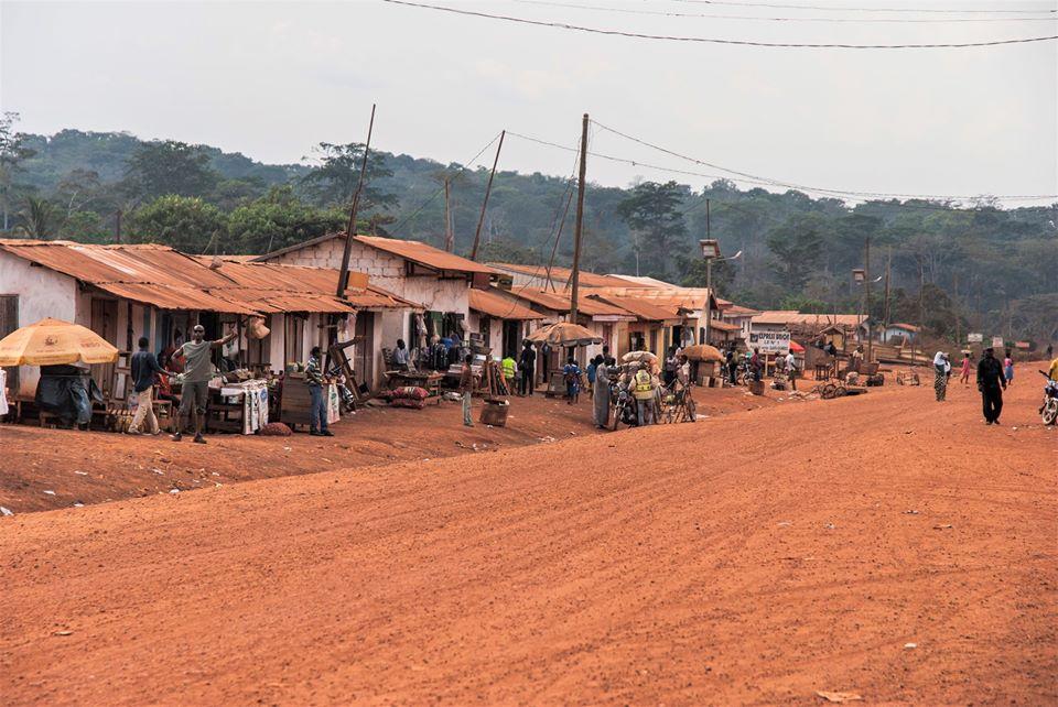 Gari Gombo, une vue de la localité en 2017
