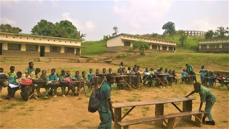 Makénéné. Ecole catholique