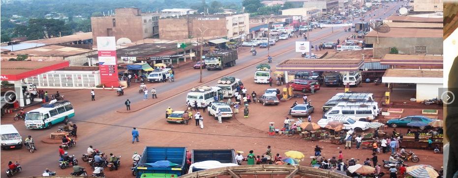 Une vue de Mbouda