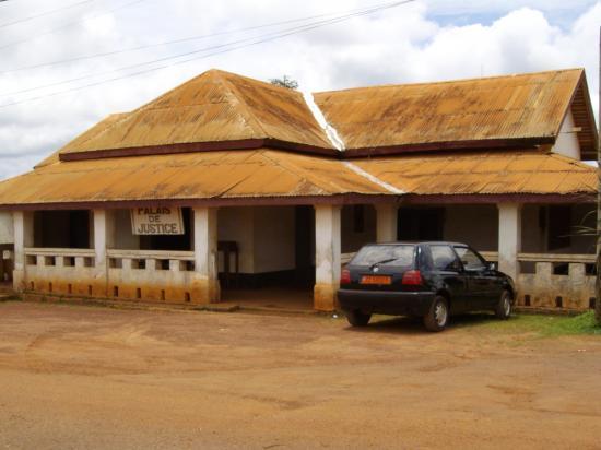 Nanga Eboko Ancien Palais de justice