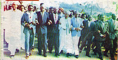 Ndam Njoya, Samuel Eboua et quelques leaders de l'opposition en rangs serrés à Yaoundé