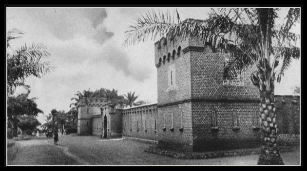 Abong Mbang Ancien fort allemand devenu prison centrale