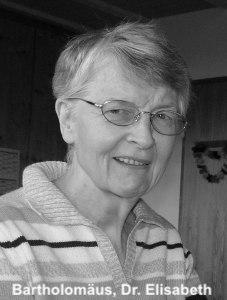 Bartholomäus, Dr. Elisabeth