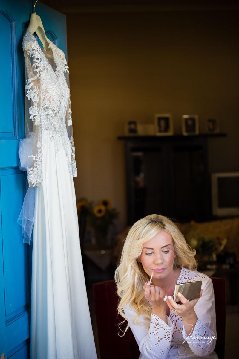 ετοιμασια νυφης χτενισματα