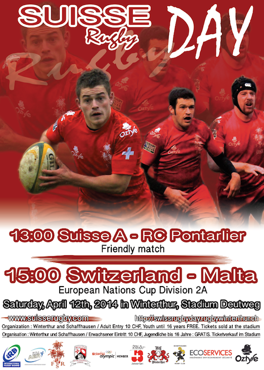 Suisse Rugby Day