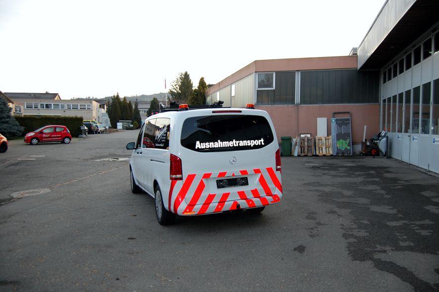 Ausnahmetransporterbegleit Fahrzeuge ATB