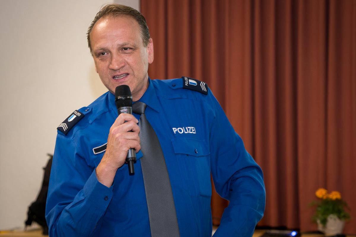 Quartierpolizist Daniel Zemp will für die Quartierbewohner nahbar sein.