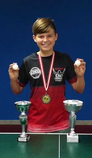 Jakob Wilder schaffte drei Platzierungen bei den ASVÖ Bundesmeisterschaften in Kremsmünster!