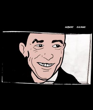 Albert Camus  (II) (c) Miriam Gil