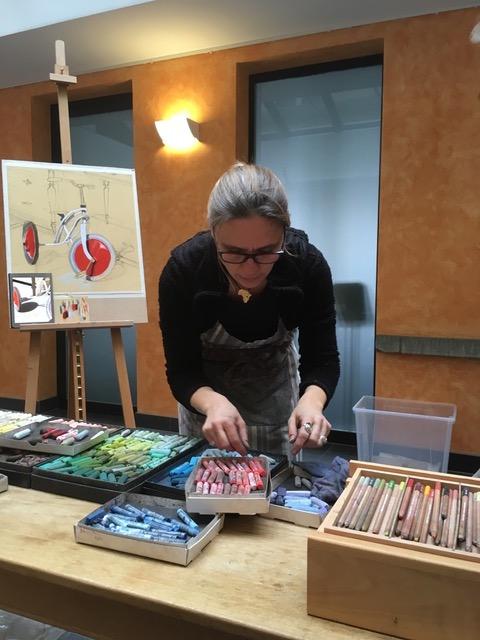 Thea Herzig, Leissigen, malerei, kunst kaufen, pastell