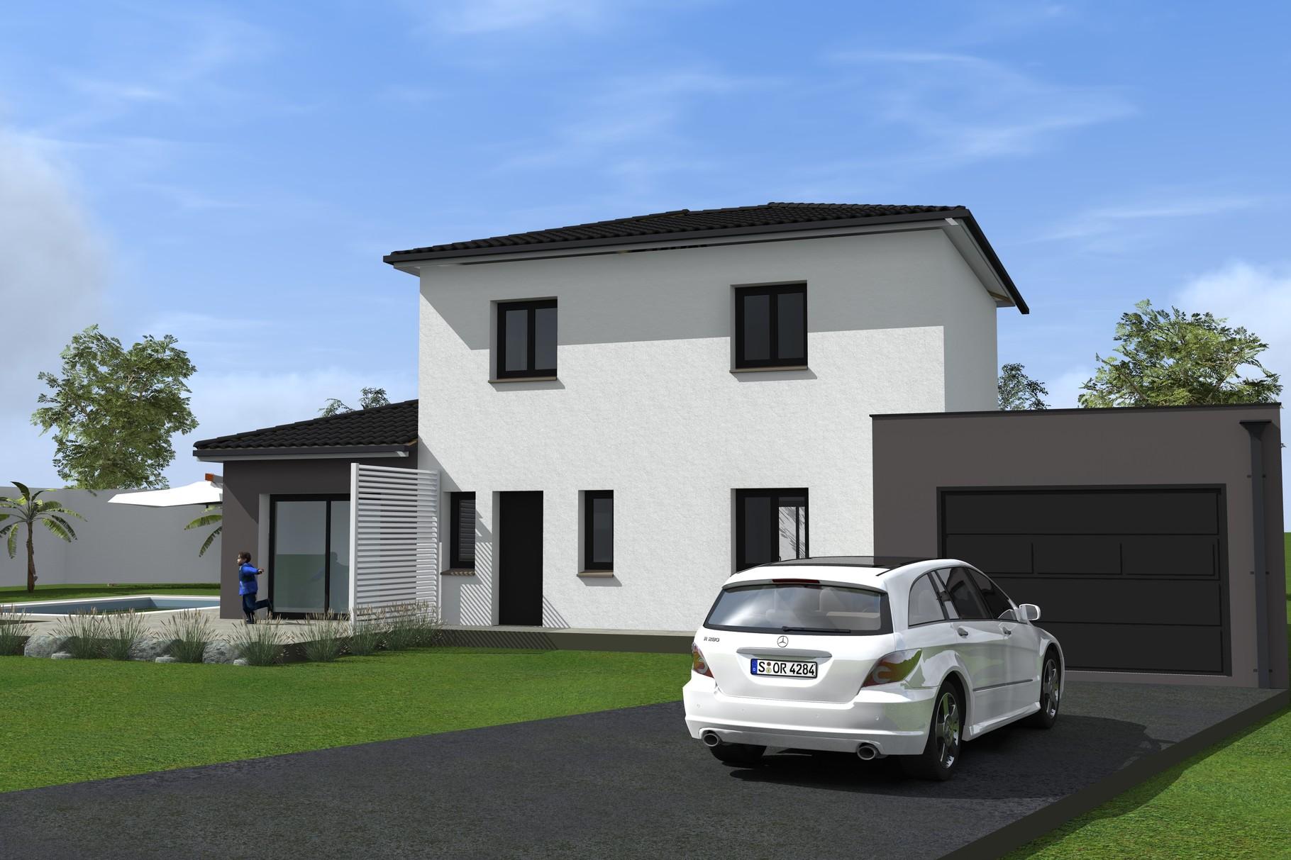 Maison traditionnelle dessinateur plans permis de for Construire ma maison en ligne