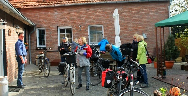 Bett + Bike-Gastbetrieb in Heek-Münsterland