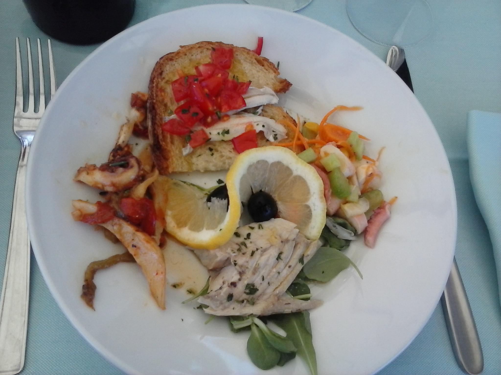 A pranzo sul trabocco Punta Tufano