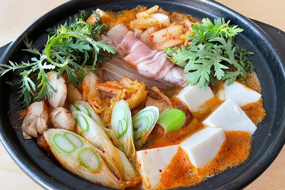 豚肉キムチ鍋