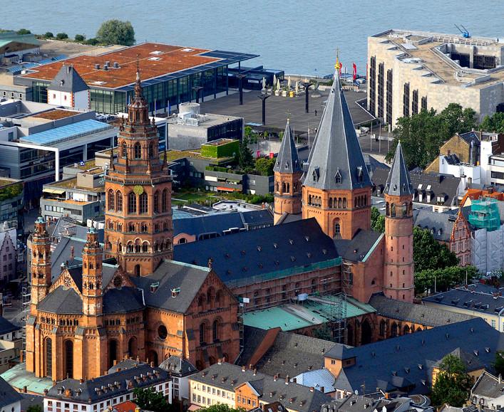 Perspektive aus der Luft (c) Bisum Mainz