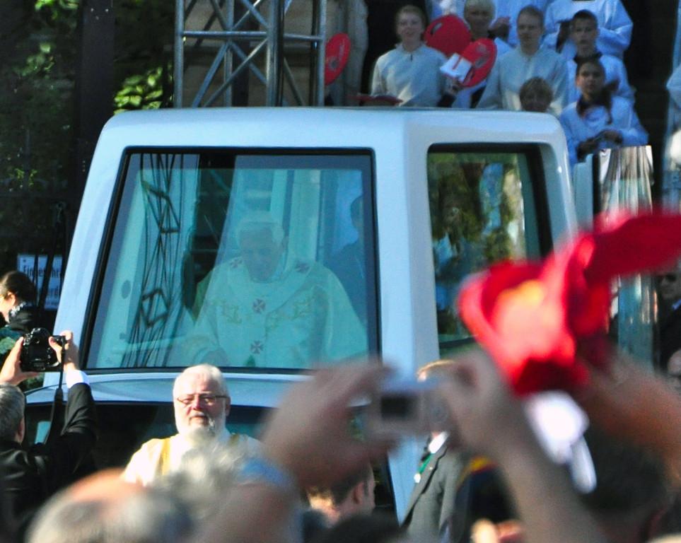 Der Papst kommt!