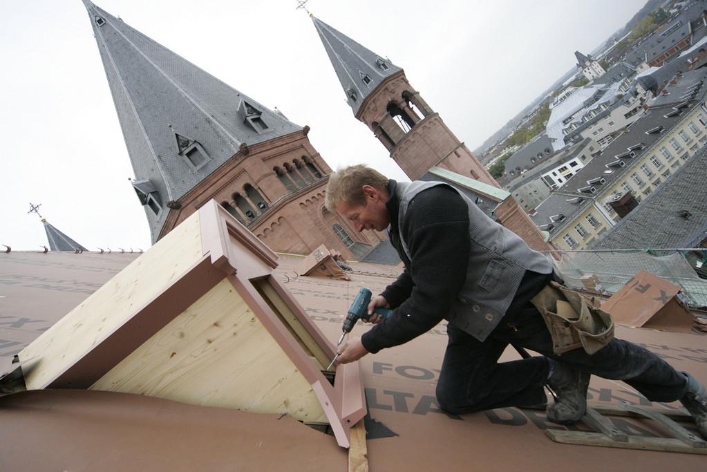 Handwerker am Dom (c) Sascha Kopp