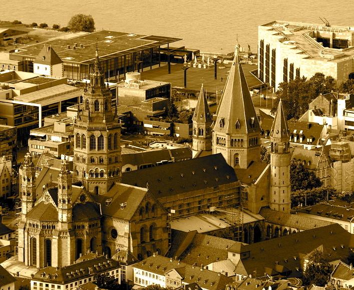 Perspektive aus der Luft (c) Bistum Mainz