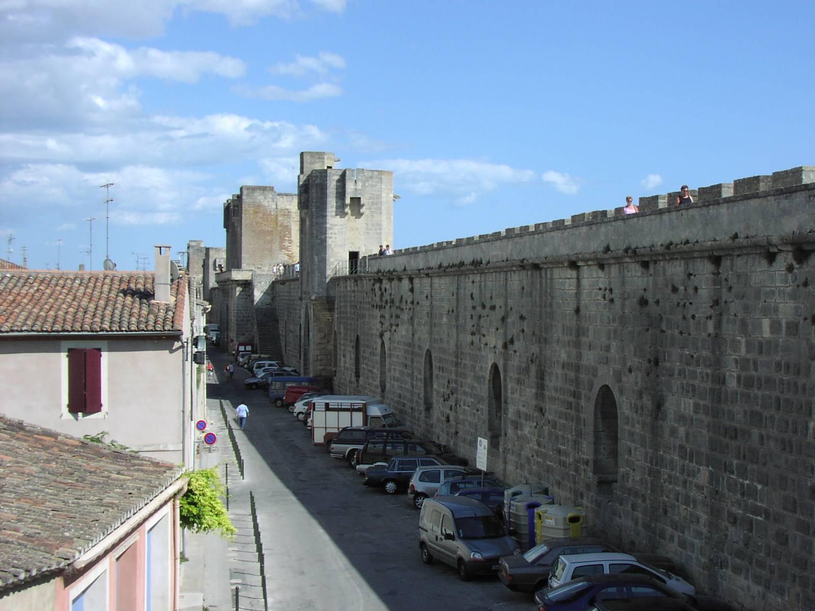 Stadtmauer innen
