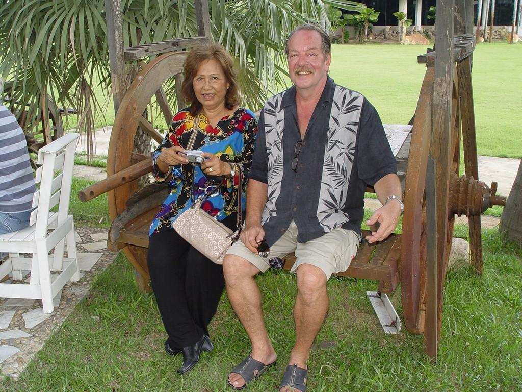 Kassenprüfer Roman Bely mit Frau