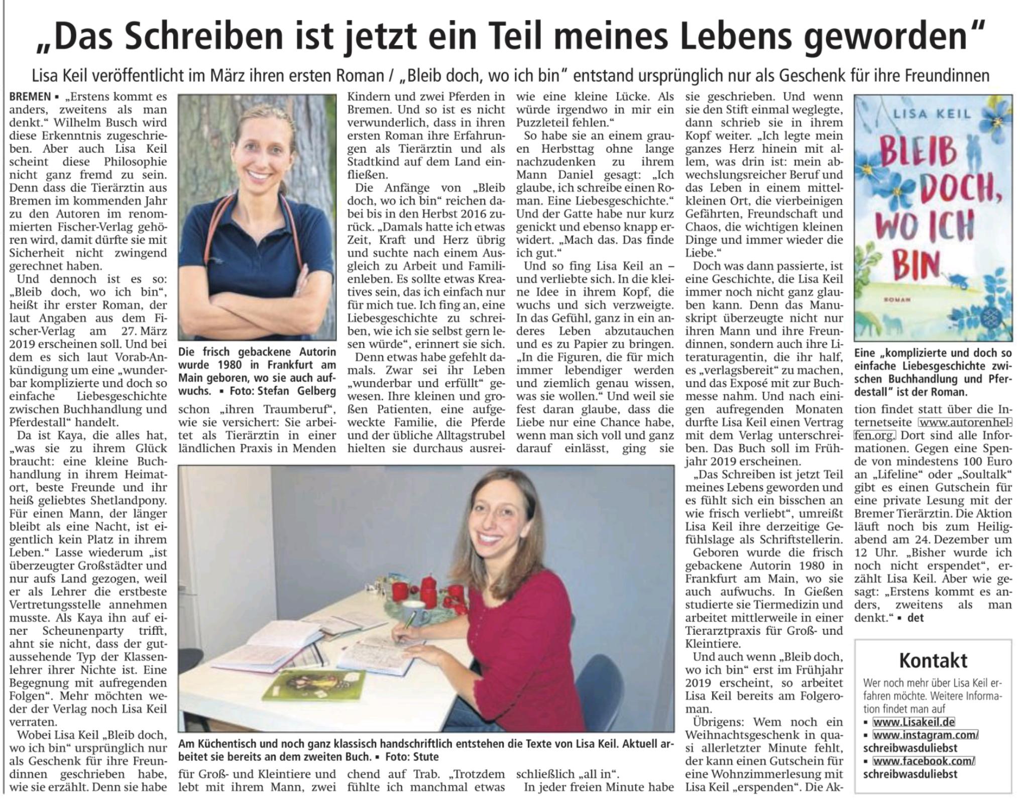 Soester Anzeiger 22.12.2018