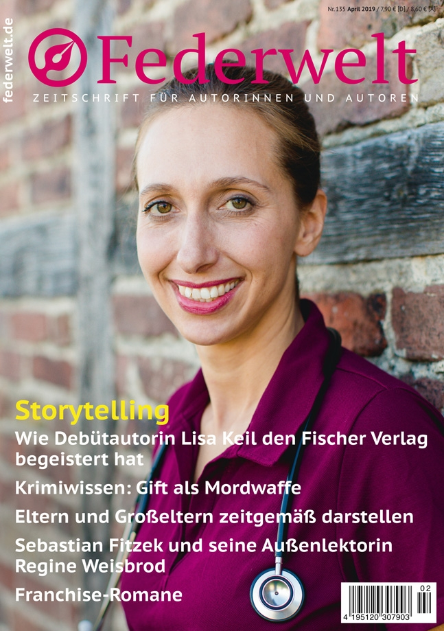 Titel der Federwelt April 2019