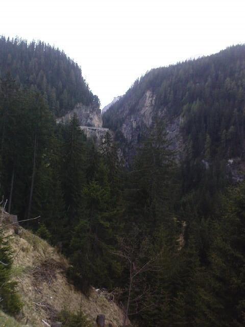 28.04.11: Aufstieg zum Albulapass