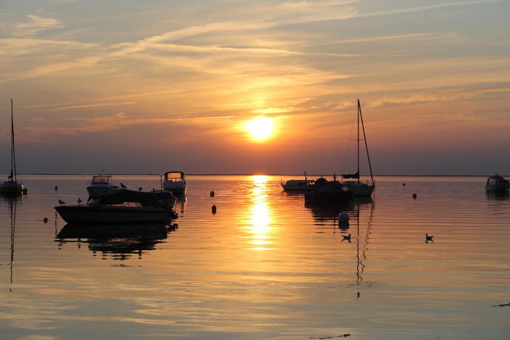 Pepelow Sonnenuntergang 2011