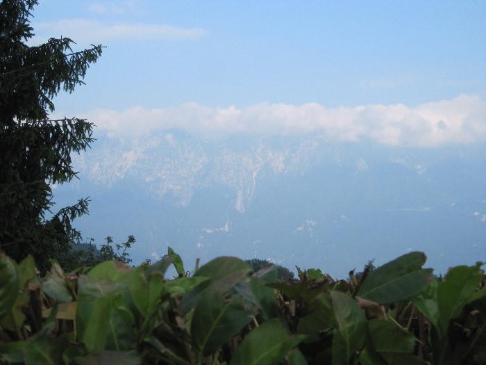 Blick auf Monte Baldo 2012