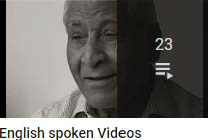 English spoken Videos