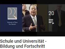Schule und Universität - Bildung und Fortschritt