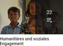 Humanitäres und soziales Engagement