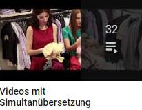 Videos mit Simultanübersetzung