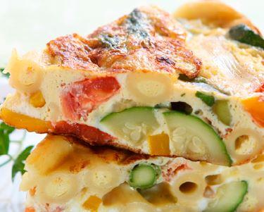 Tortillas de légume - un repas équilibré et rapide
