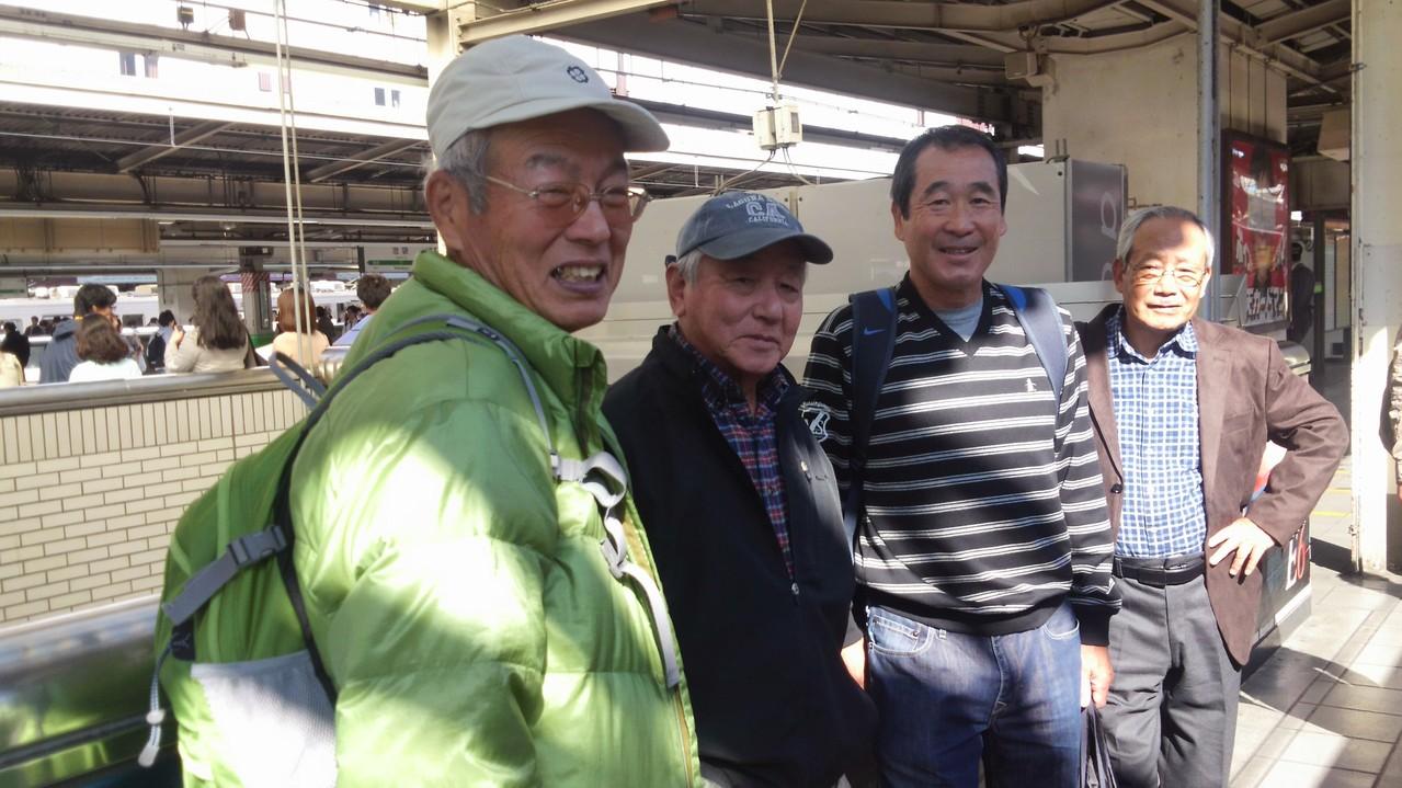 池袋駅にて (5名乗車)