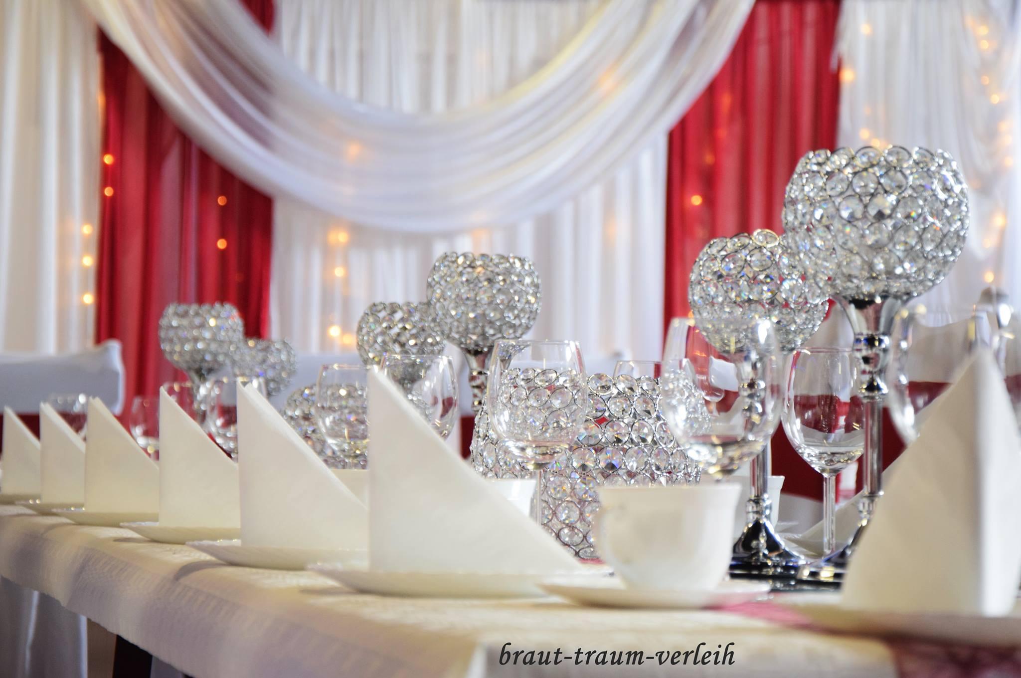 Kerzenstander Miete Tischleuchter Silber Mieten Dekoration
